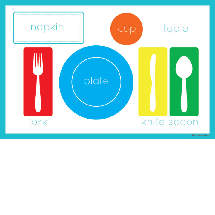Placesetting Placemat