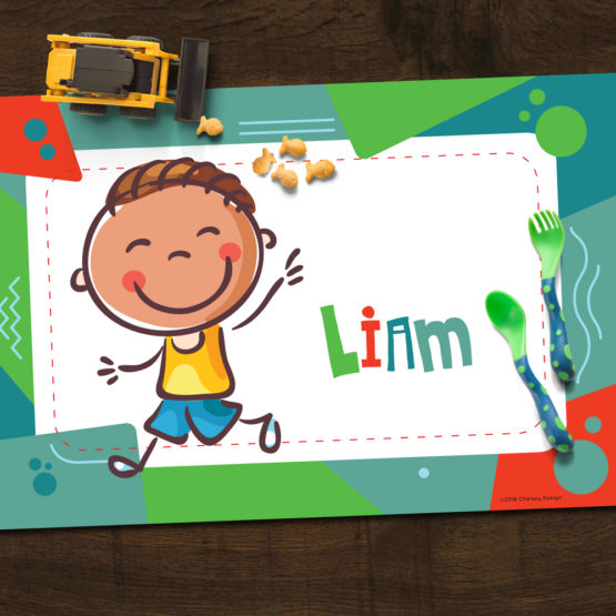 Green Personalized Placemat