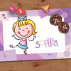 Purple Personalized Placemat