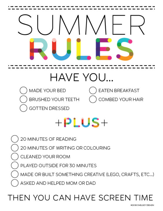 Summer Rules
