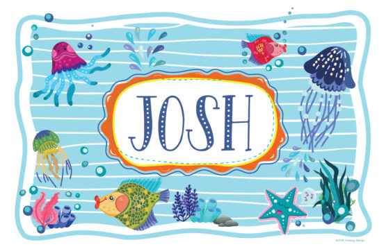 Under the Sea Personalized Placemat