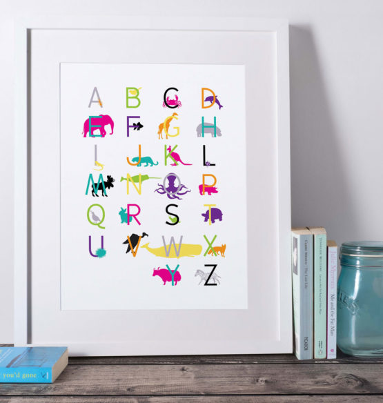 Framed-animalalphabet-8x10-web