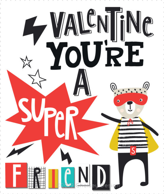 Super Hero Valentines