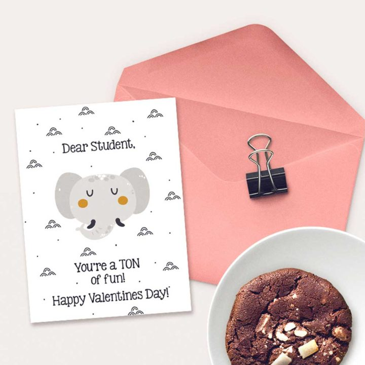 Cute Printable Valentines from Teacher