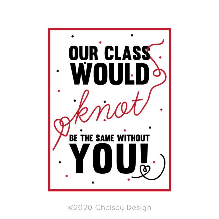 Class Printable Valentine