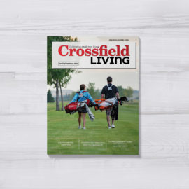 Crossfield Living Mag- Cover 2020