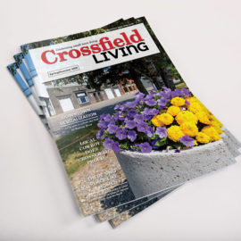 Crossfield Living Magazine Cover 2019