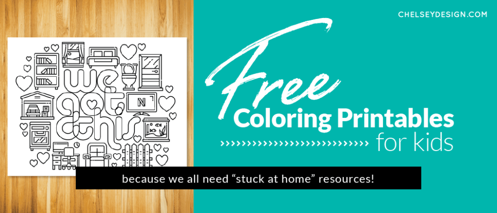 Free Coloring Printables for kids
