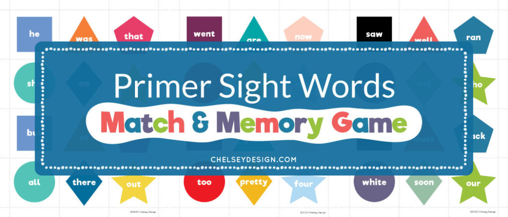 Primer Sight Words Game