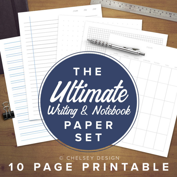 Ultimate-Notebook-&-Writing-Paper-Set